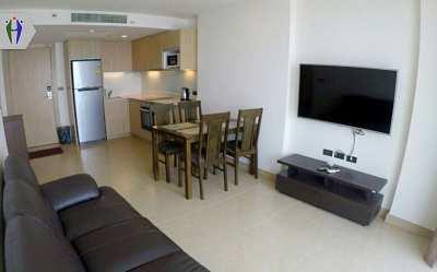 Condo for Rent Pratumnak hill, 54 Sq.m. Floor 26th with Sea View.
