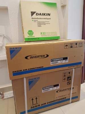 Daikin ,Inverter 9,000 BTU New! Was 18,200฿ now hot sales 15,500฿