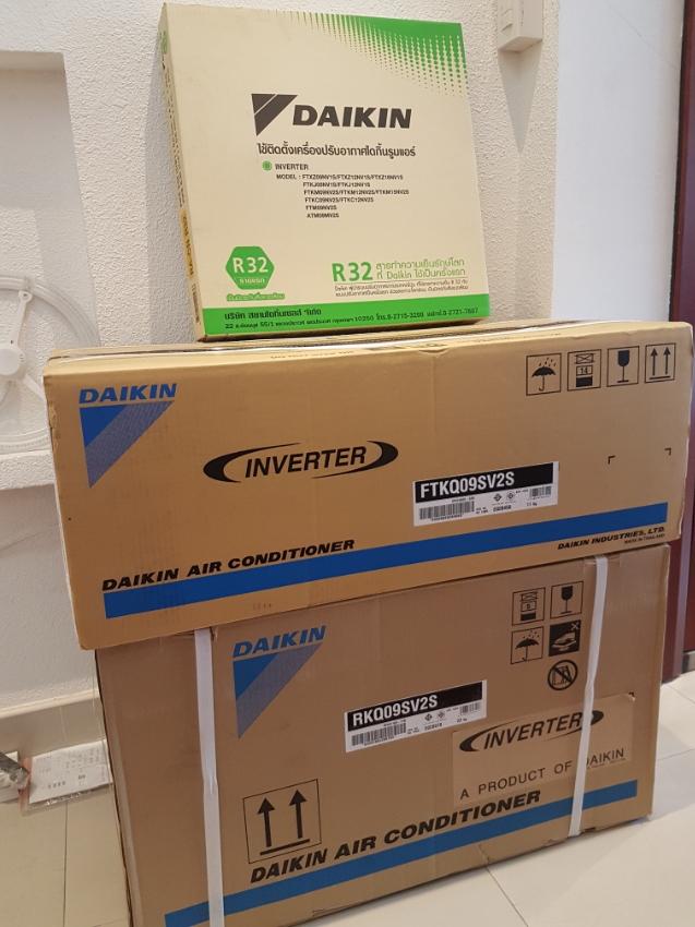 Daikin ,Inverter 9,000 BTU New! Was 18,200฿ now hot sales 13,500฿