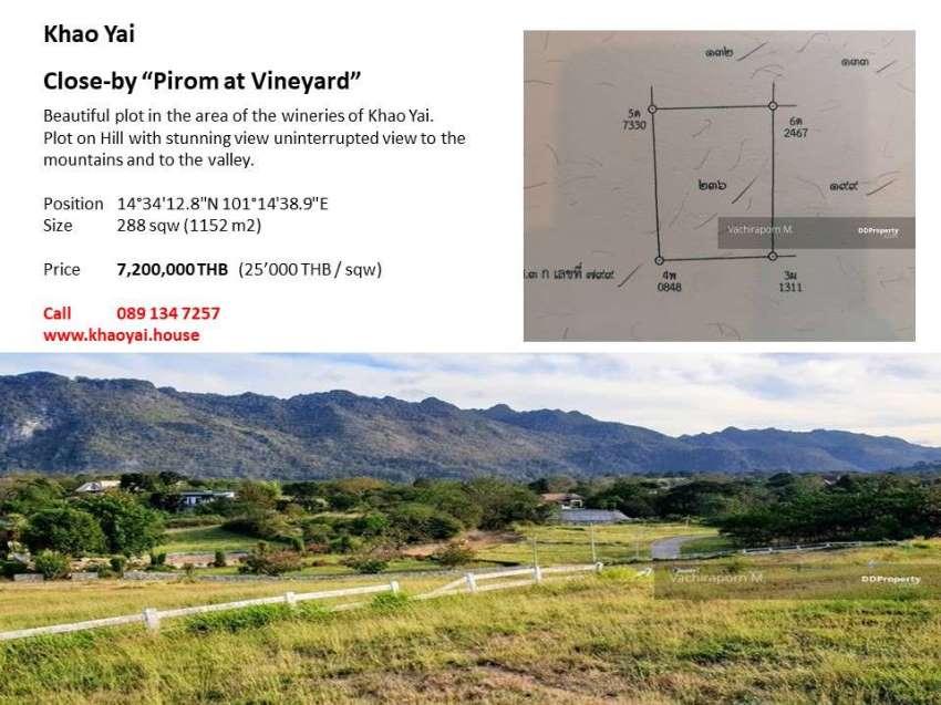 Khao Yai: Plot in the winery area - Chanot