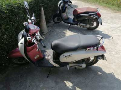 Honda Scoopy i 110 ccm