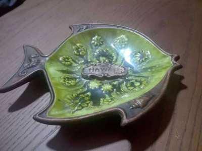 SOLD!!! Hawaii fish plate astray