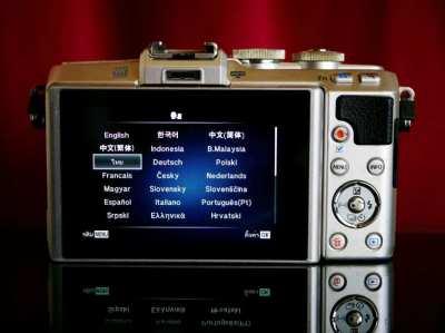 OLYMPUS PEN Lite E-PL7 Interchangeable Lens Camera body