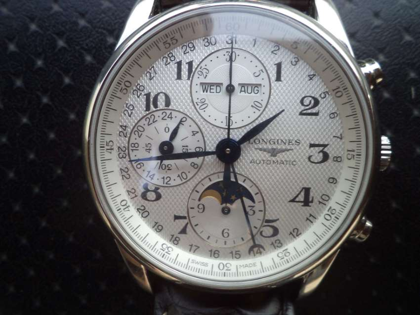 Longines Master Collection Mens Automatic Chronograaf Moon Fase