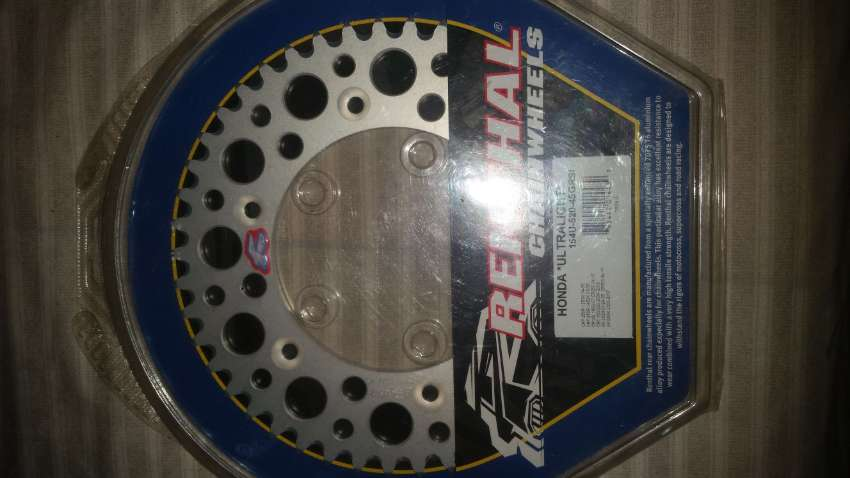 Renthal ultralight 45 tooth sprocket for Honda CRF's