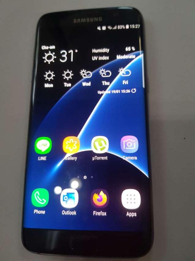 SAMSUNG S7 EDGE  bargain 5500baht
