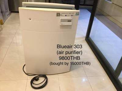 Blueair 303 (air purifier) and 3 appliances (price reduced)