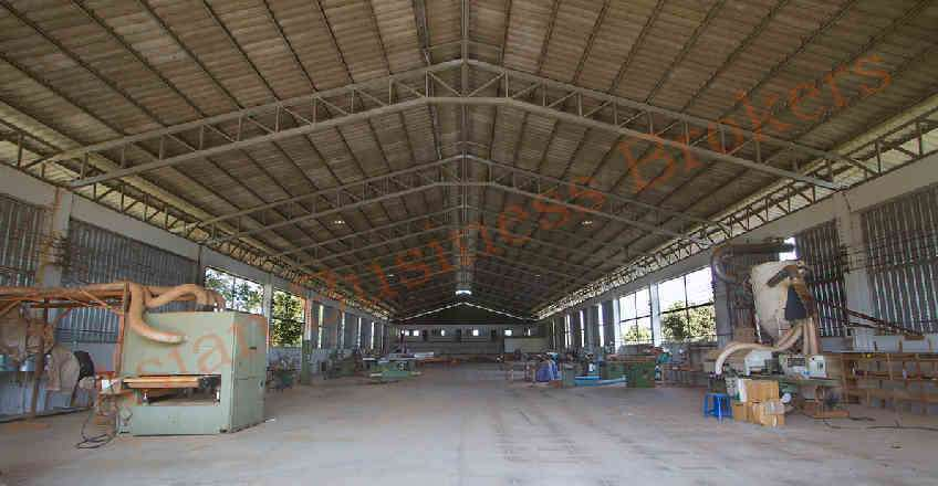 1012003 Large Factory Building in Industrial Zone in Chiang Mai