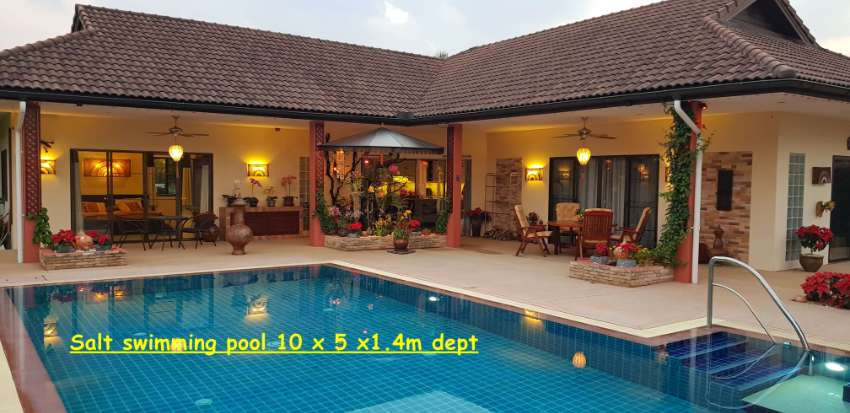 Bungalow  with pool for sale, near Chiang Mai www.trottermoggy.com