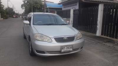 Selling a Toyota Altis 2004