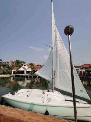 2005 Sailboat Hunter 216