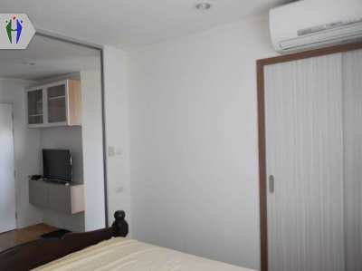 Condo for rent 7,500 baht close to Terminal21 Pattaya. 1 month deposit