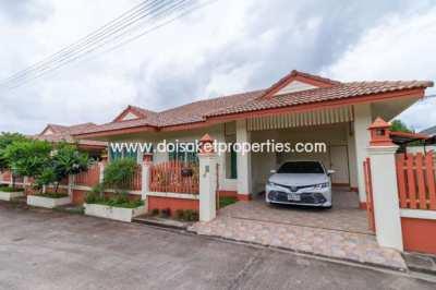 (HS287-02) Great 2 Bedroom Home for Sale in Doi Saket