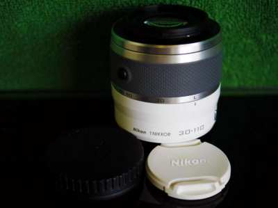 Nikon 1 Nikkor 30-110mm f/3.8-5.6 VR IF ED AF Lens - White