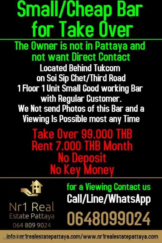 Small Bar Third Road Pattaya