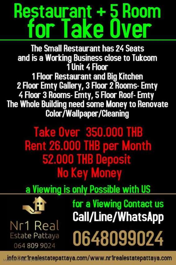 Restaurant Close To Tukcom Pattaya