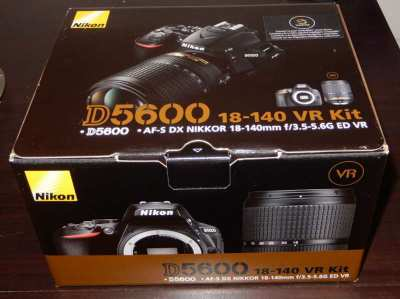 Nikon D5600 BRAND NEW