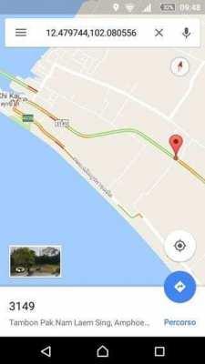 Land for Sale in Laem Sing beach (Chantaburi)