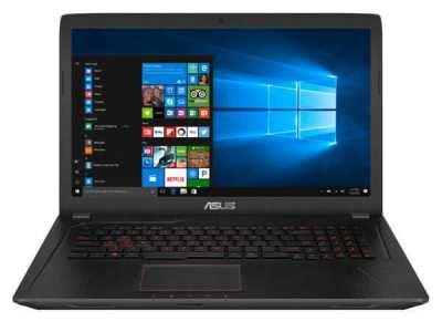 Asus 17.3 inch gaming laptop EU Keyboard as new