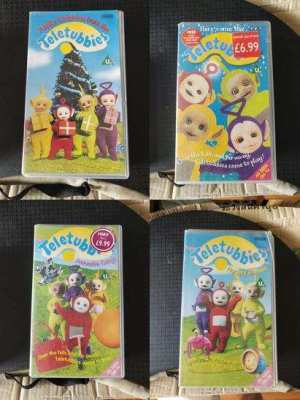 Thomas the Tank Engine, Teletubbies and Postman Pat VHS/VCD