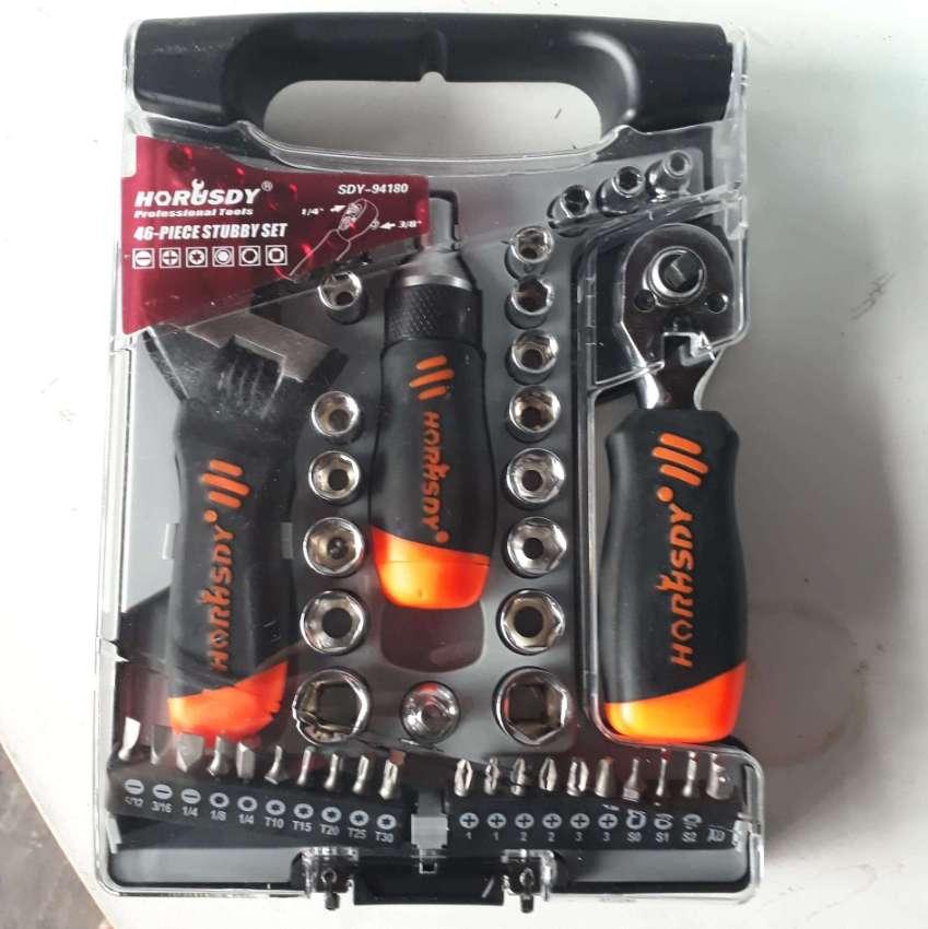 46pc Multi-functional Ratchet Wrench Set 495 Baht