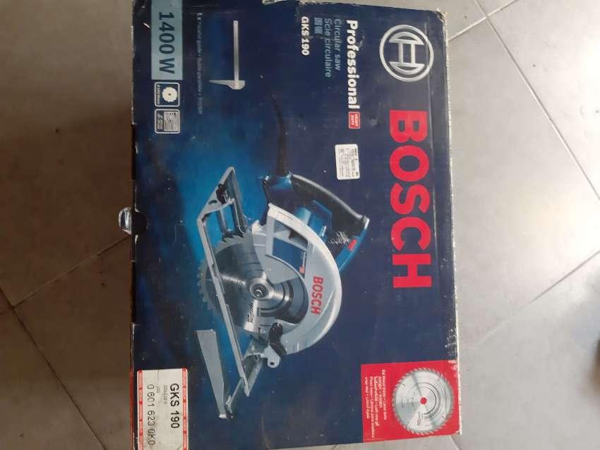Brand new circular saw bosch gks 190