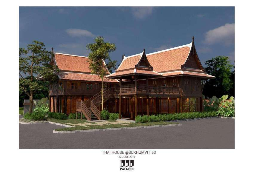 Thai House for rent in Thonglor for Spa or Restaurant