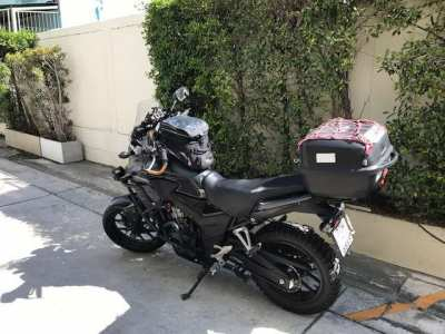 Urgent Sale!!! HONDA CB 500 X with many modifications and extras