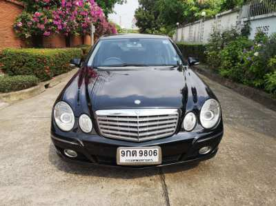 Mercedes Benz W211 E200 NGT 2008 E-Class single owner, no accident