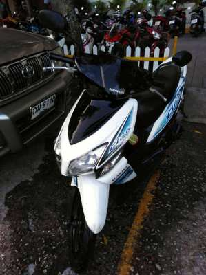 Honda Click. Good to ride. Chiang Mai.