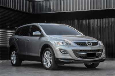 Free down payment for Mazda CX-9 V6 with 12 year option.
