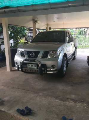 Beautiful 2007 Nissan Navara LE Club Cab