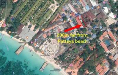 KOH LIPE - Walking street - 200m from Pattaya Beach