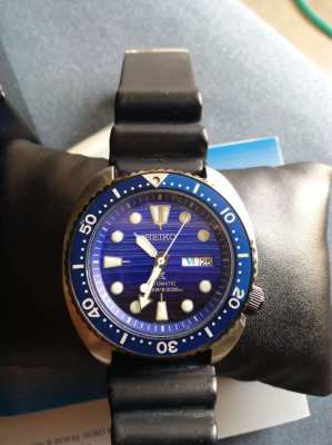 Seiko save the ocean turtle automatic watch SRPC9K1