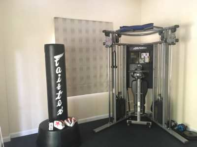 Life Fitness G7 Multi Gym + Dumbbells + Olympic Bar & plates