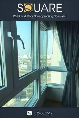 Soundproof door Soundproof window