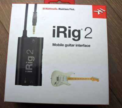 iRig 2 Analog Guitar Interface