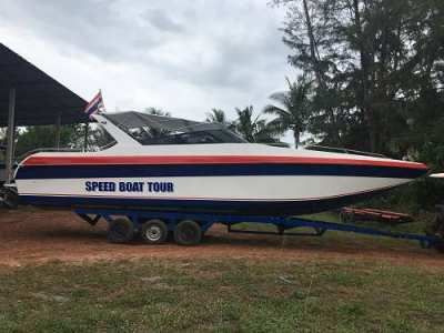FIBER SPEED BOAT 39'- 2 X 250  HP - 30 Passengers