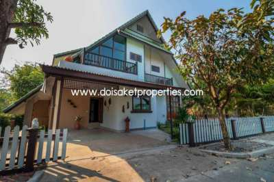 (HS289-02) Great Home with Cool Design for Sale in Doi Saket