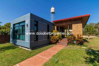 (HS288-05) Gorgeous Modern Home on 2+ Rai for Sale near Maejo Universi