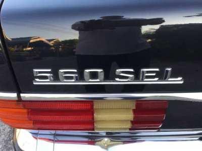 Mercedes Benz 560SEL W126 full equipment
