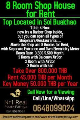 8 Room + Shop Soi Buakhao