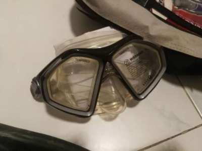 New SCUBA GEAR bought new Never Used Aqua Lung Scuba / Diving gear