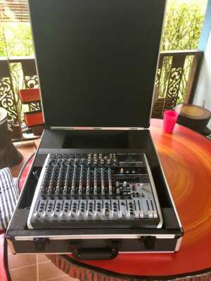 New Behringer Xenyx QX 1832 USB, Hardcase incl. for sale