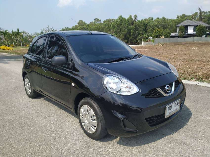 Good as new Nissan March 1.2 S MT 2017, Sold by Owner