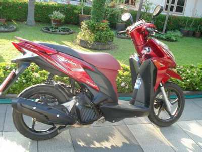 Motorbike & Scooter for rent in Chiang Mai.