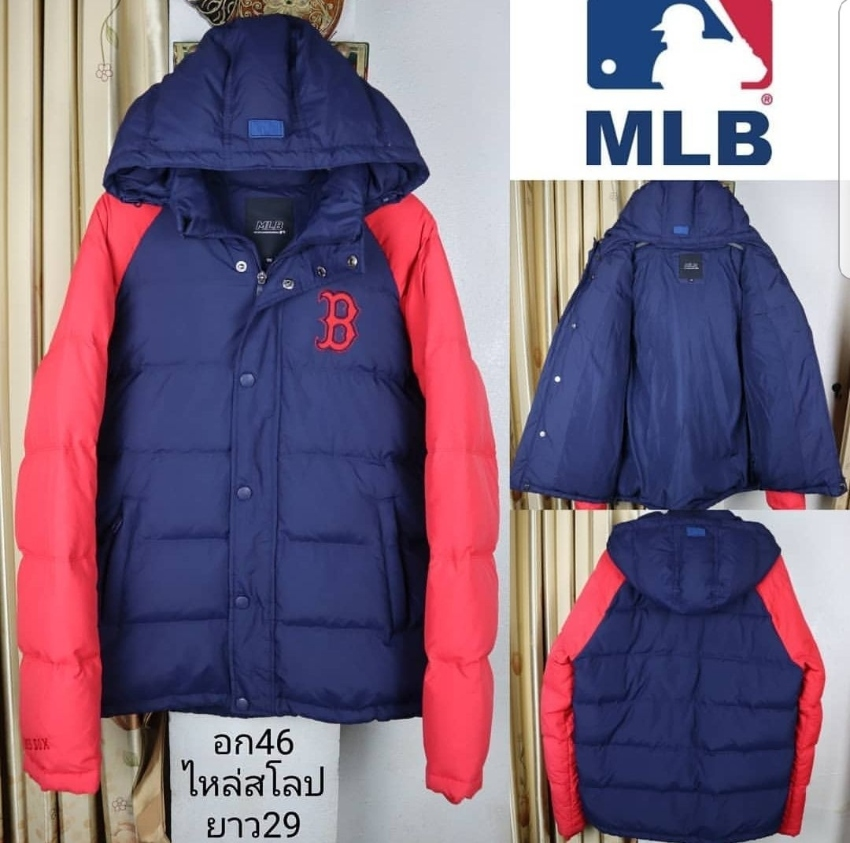 Boston Red Sox MLB Sweater. Tight, duck down. Can be worn.
