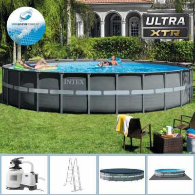 Brand New & Largest Round Intex Pool