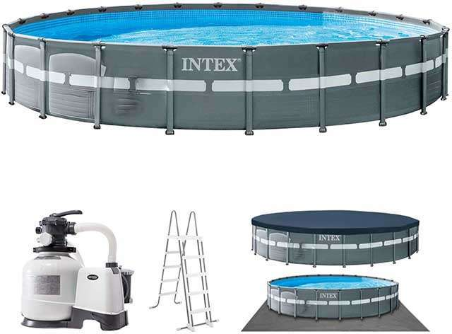 Brand New & Largest Round Intex Pool