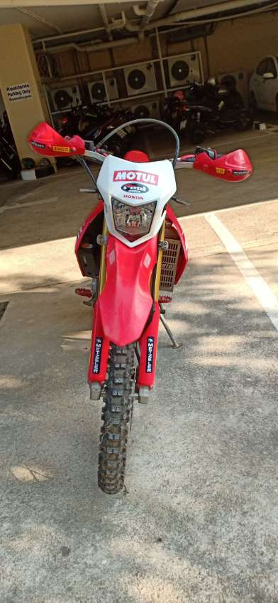 Honda CRF 250 L Red 11/2016 For Sale.